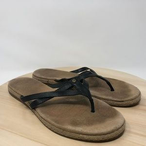 ca8a769a611 UGG Australia Women's Size 9.5 Leather Sandals AG4